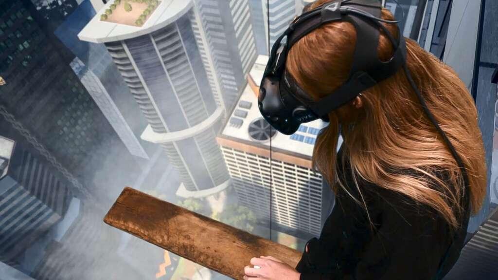 Unter Beobachtung. Kunst des Rückzugs KulturRegion Stuttgart 2020Toast VR »Richie's Plank Experience«