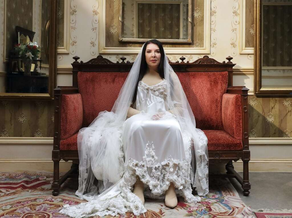 "Marina Abramović inszeniert ""7 Deaths of Maria Callas""."