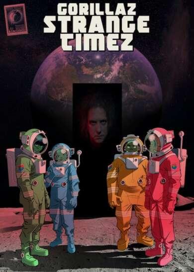 """Gorillaz: """"Song Machine: Season 1: Strange Timez"""" als Album."""