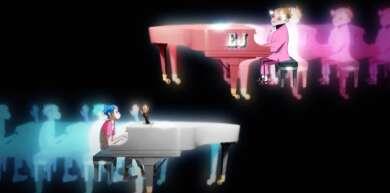 "Gorillaz und Elton John: ""The pink Phantom"""