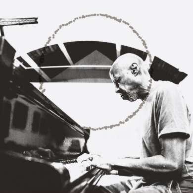 Laraaji Moon Piano Albumcover