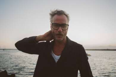 Matt Berninger am Meer
