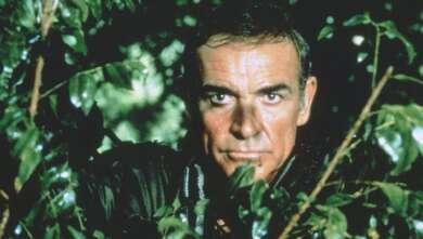 """Sean Connery in """"Sag niemals nie"""""""