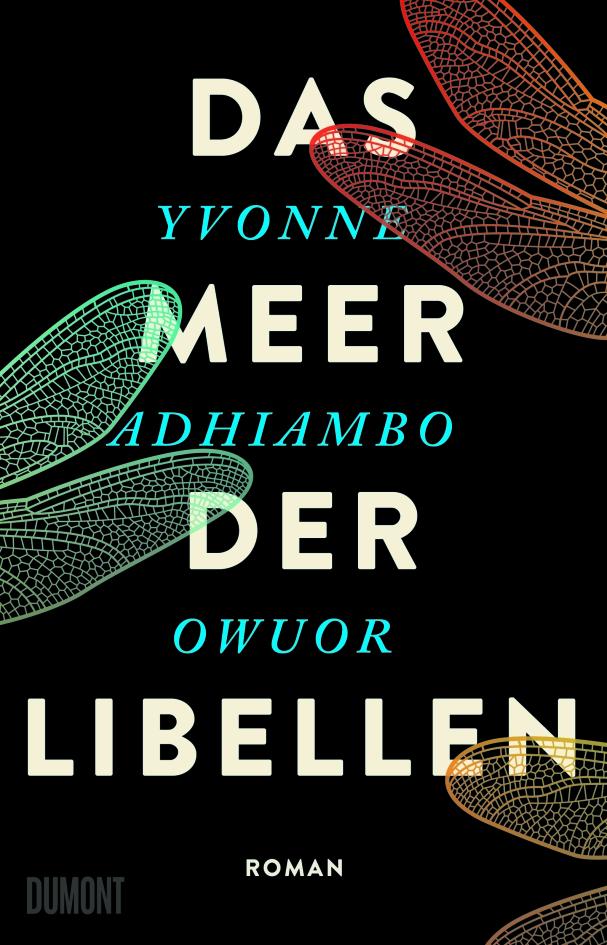 """Buchcover """"Das Meer der Libellen"""" von Yvonne Adhiambo Owuor"""