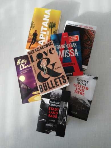 Buchcover: Die besten Krimis im Dezember 2020