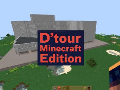 Düsseldorfer Schauspielhaus in der Minecraft Edition
