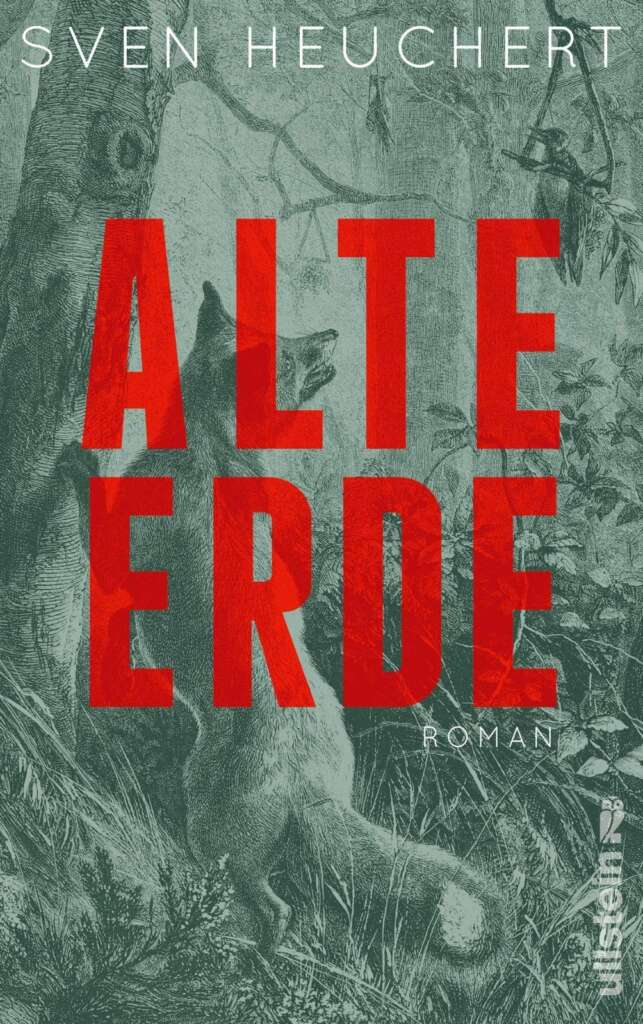 """Buchcover """"Alte Erde"""" von Sven Heuchert"""