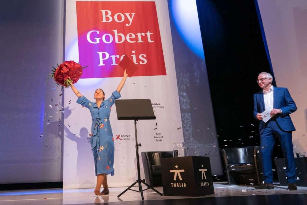 Josefine Israel hat den Boy-Gobert-Preis 2020 erhalten.