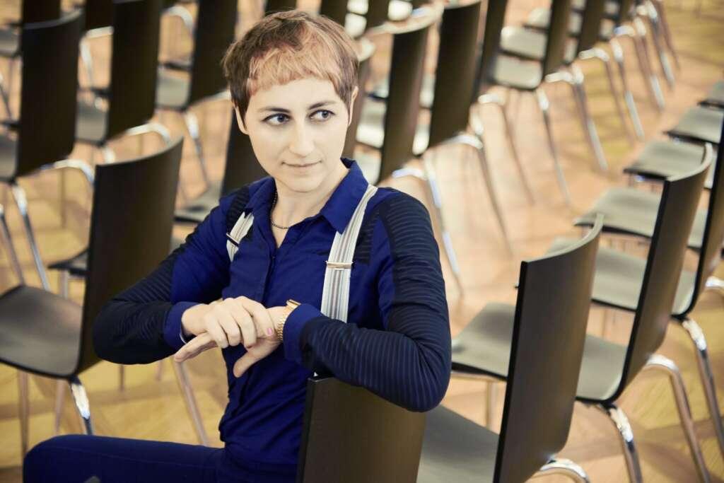 """Ulrike Almut Sandig, Autorin von """"Monster wie wir"""""""
