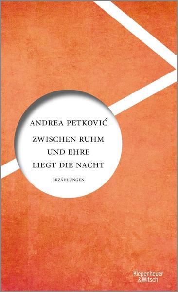 """Buchcover """"Zwischen Ihm und Ehre liegt die Nacht"""" von Andrea Petkovic"""