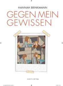 """Geschenktipps Bücher zu Weihnachten: Buchcover """"Gegen mein Gewissen"""" von Hannah Brinkmann"""