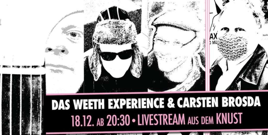 Carsden Brosda und Das Weeth Experience