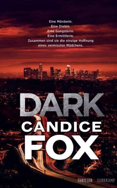 """Buchcover """"Dark"""" von Candice Fox"""