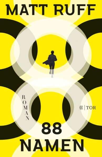 "Buchcover ""88 Namen"" von Matt Ruf"