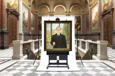 Hamburger Kunsthalle Erwerb Max Beckmann 'Selbstbilndnis Florenz'