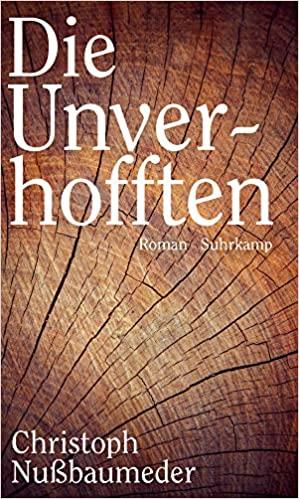 """Buchcover """"Die Unverhofften"""" von Christoph Nußbaumeder"""