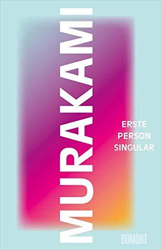 """Buchcover """"Erste Person Singular"""" von Haruki Murakami"""
