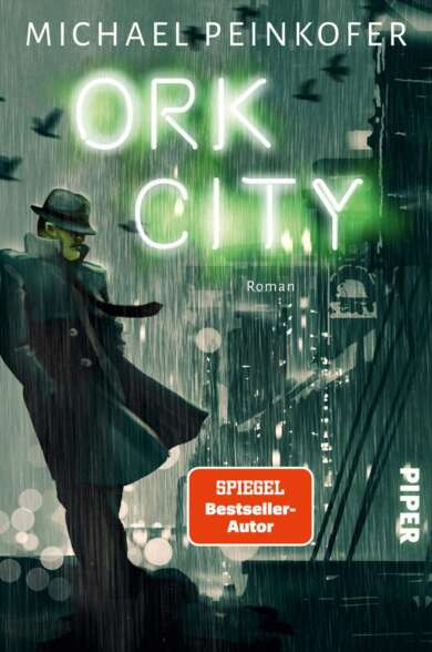 "Buchcover ""Ork City"" von Michael Peinkofer"