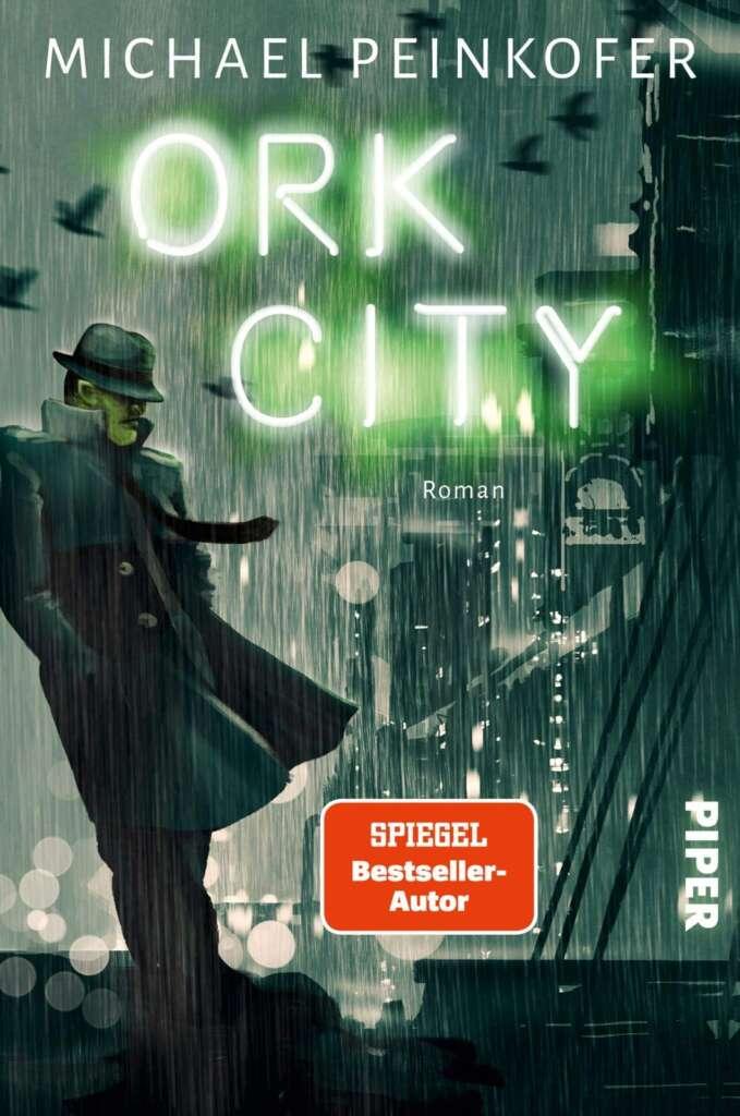 """Buchcover """"Ork City"""" von Michael Peinkofer"""
