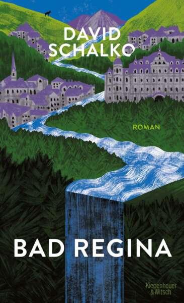 """Buchcover """"Bad Regina"""" von David Schalko"""