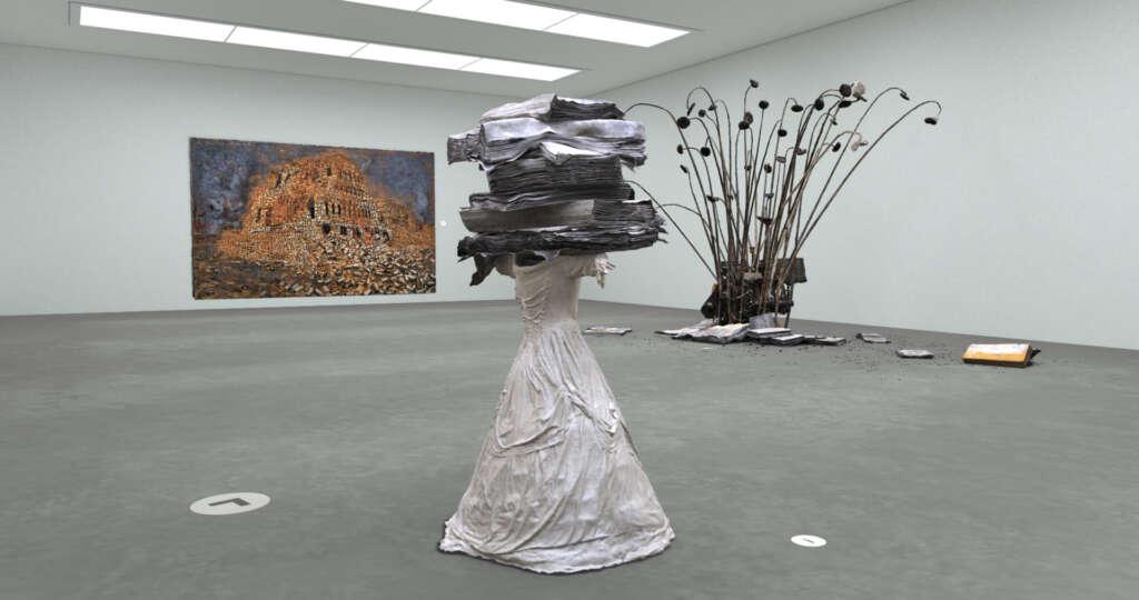 """Die Ausstellung """"Anselm Kiefer"""" in der """"Digitalen Kunsthalle"""" von ZDFkultur."""