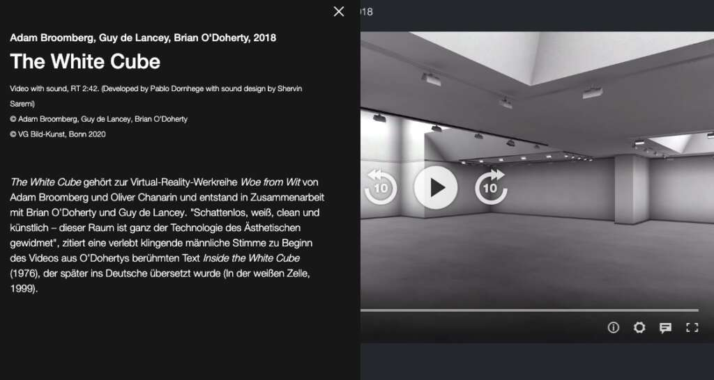 ZKM Digitale Kunsthalle ZDF Kultur