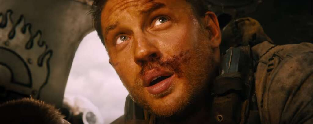 """Tom Hardy in """"Mad Max: Fury Road"""""""