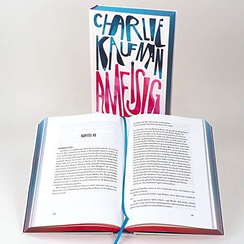 """Buchcover """"Ameisig"""" von Charlie Kaufman"""
