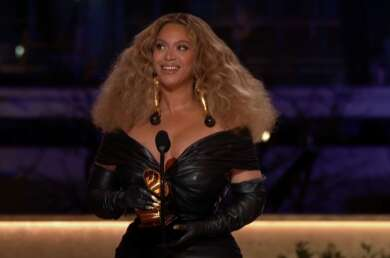 Beyoncé bei den Grammys 2021