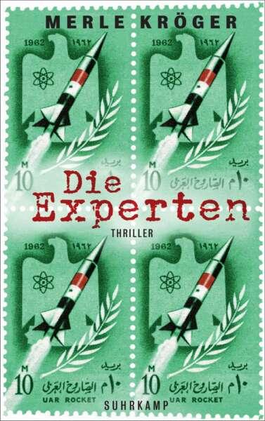 """Buchcover """"Die Experten"""" von Merle Kröger"""