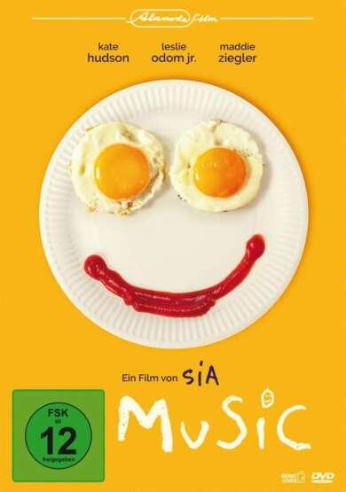 """Cover von """"Music"""", dem Regidebüt von Musikerin Sia"""