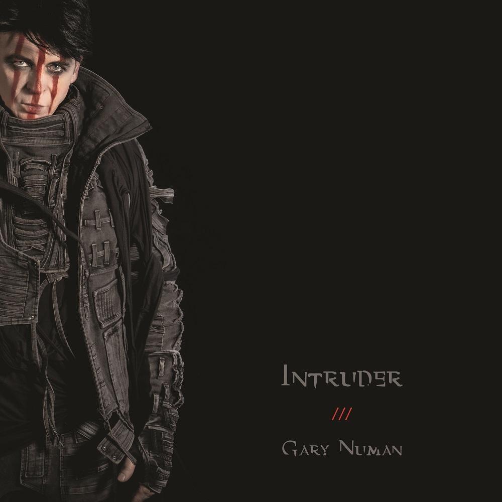"""Plattencover """"Intruder"""" von Gary Numan"""