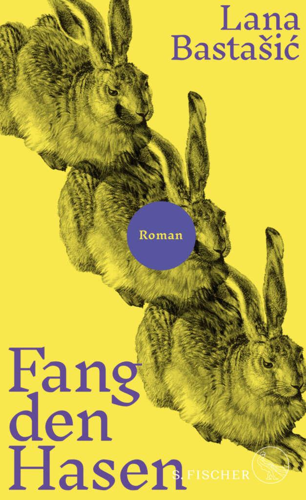 """Buchcover """"Fang den Hasen"""" von Lana Bastasic"""