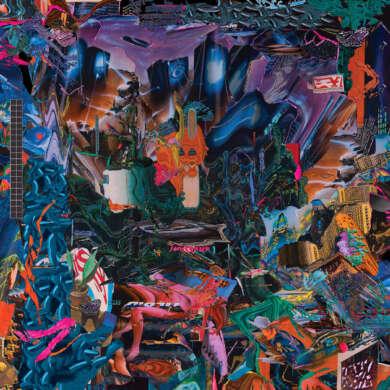 black midi Cavalcade Albumcover