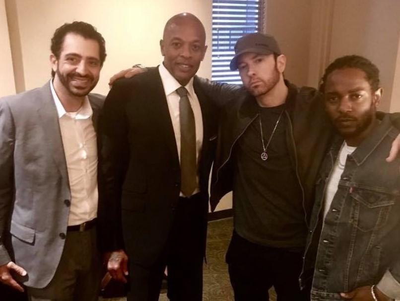 Kendrick Lamar, Dr. Dre, Eminem