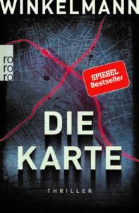 """Buchcover """"Die Karte"""" von Andreas Winkelmann"""