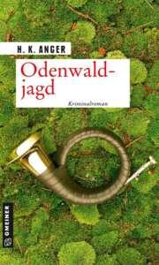 """Buchcover """"Odenwaldjagd"""" von H. K. Anger"""