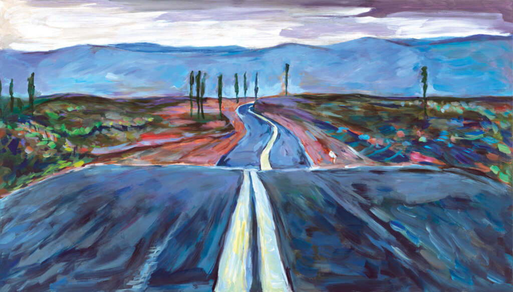 Bob Dylan on the road ausstellung