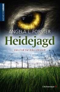 """Buchcover """"Heidejagd"""" von Angela L. Forster"""
