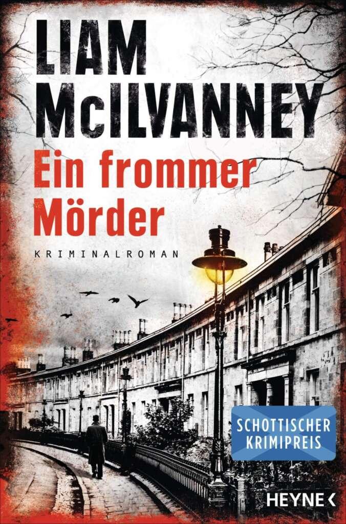 """Buchcover """"Ein frommer Mörder"""" von Liam McIlvanney"""