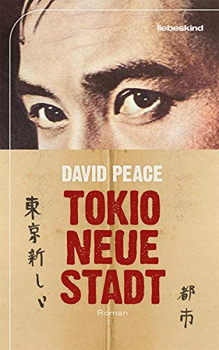 """Buchcover """"Tokio, neue Stadt"""" von David Peace"""