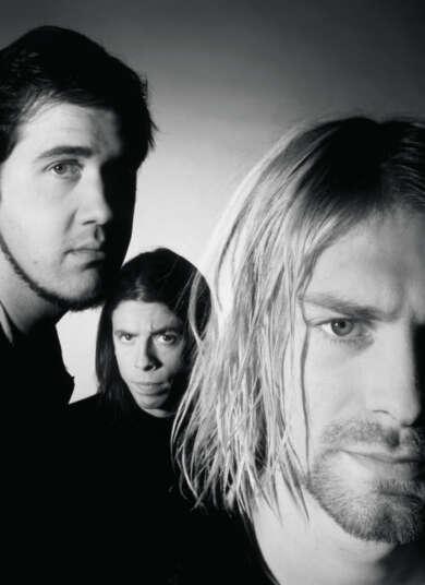Drei männer gesichter bärte lange haare