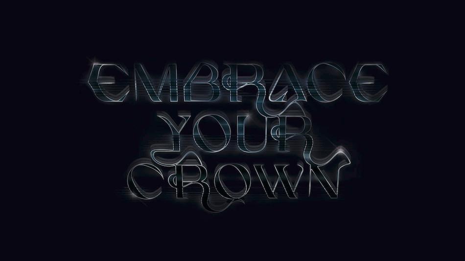 """Plakat zur Performance """"Embrace your Crown"""" auf Kampnagel"""