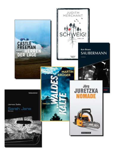 Buchcover Die besten Krimis im September 2021