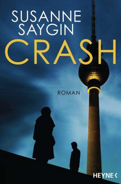 """Buchcover """"Crash"""" von Susanne Saygin"""