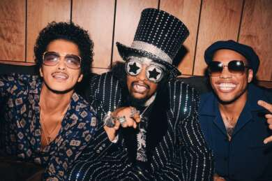 Bruno Mars Anderson .Paak Sil Sonic mit Bootsy Collins