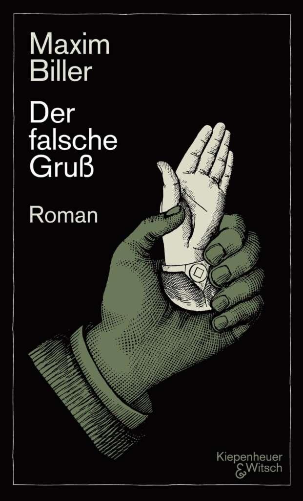 """Buchcover """"Der falsche Gruß"""" von Maxim Biller"""