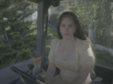 Lana Del Rey Traktor Blue Banisters Musikvideo