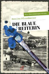 """Buchcover """"Die blaue Reiterin"""" von Monika Pfundmeier"""